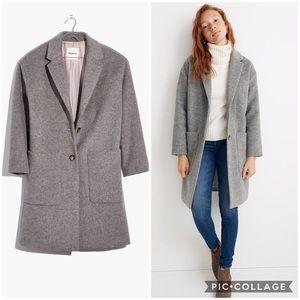 Madewell Elmcourt Blanket Grey Monsieur Jacket